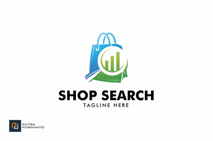 Thumbnail for Shop Search - Logo Template