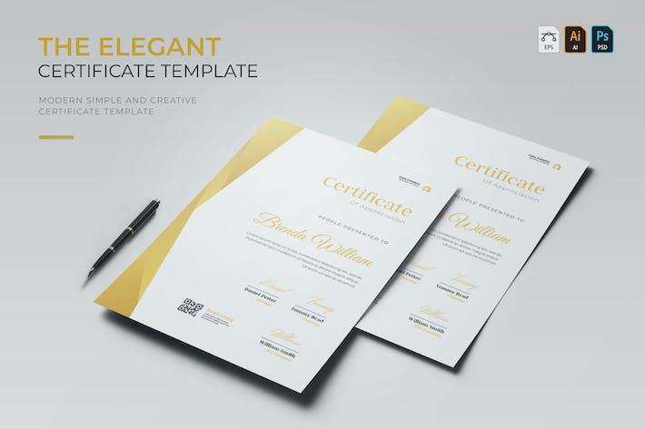 Thumbnail for Élégant | Certificat