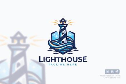 Light Tower Logo Template