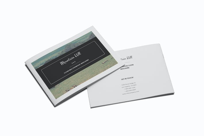 Thumbnail for Multipurpose A5 Clean Brochure