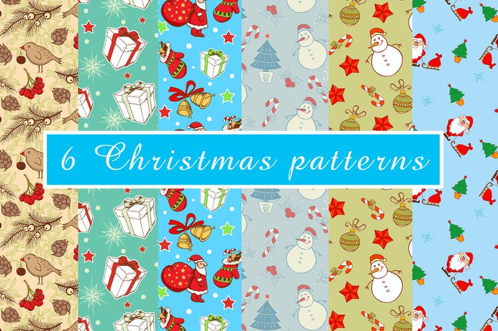 Cover Image For Christmas Patterns