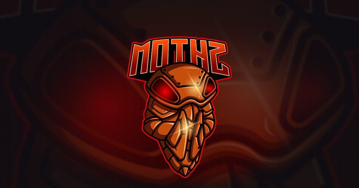 Download Moth - Mascot & Esport Logo by aqrstudio
