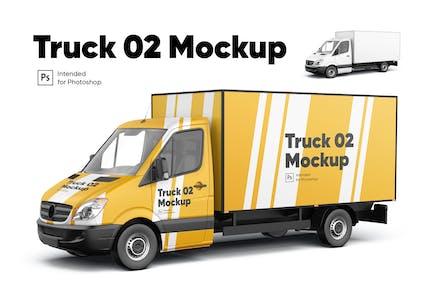 Truck 02 Mockup