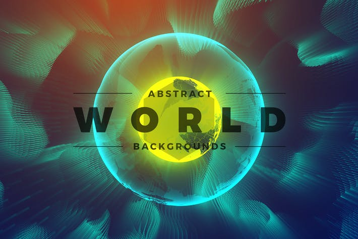 Thumbnail for Abstract World & Particles Backgrounds
