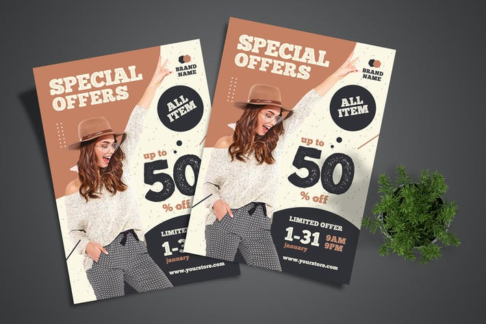 Special Offer Fashion Flyer