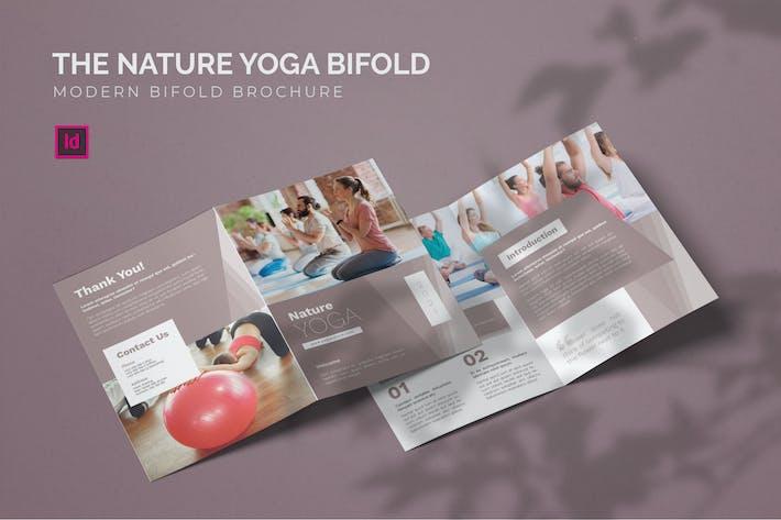 Thumbnail for Nature Yoga - Bifold Brochure