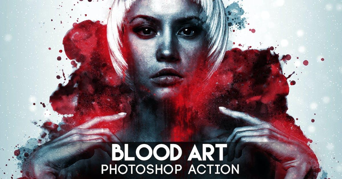 Download Blood Art Photoshop Action by Eugene-design