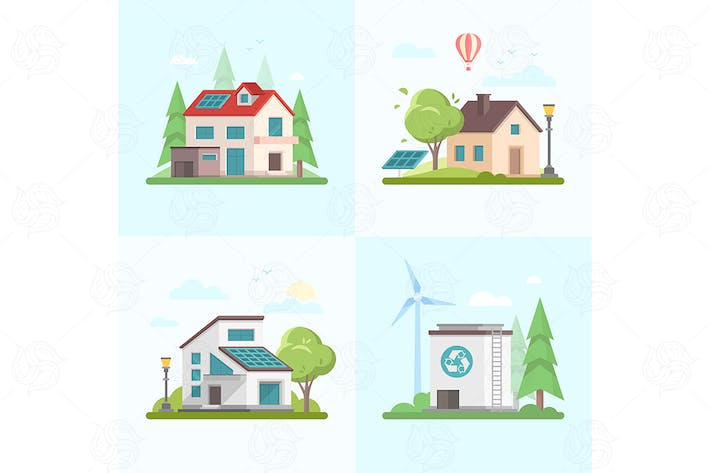 Thumbnail for Eco-friendly complex - set of flat elements