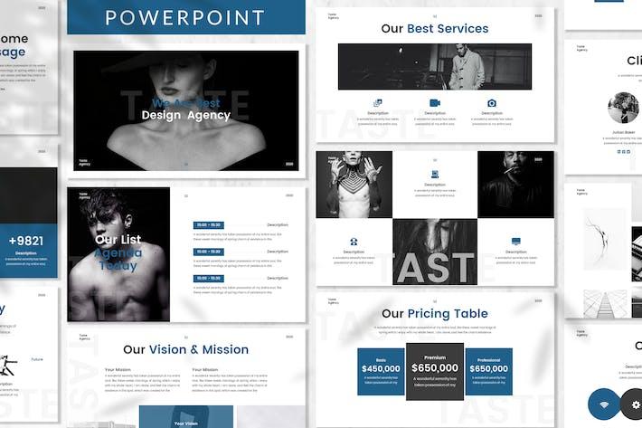 Thumbnail for Taste - Plantilla de PowerPoint empresarial