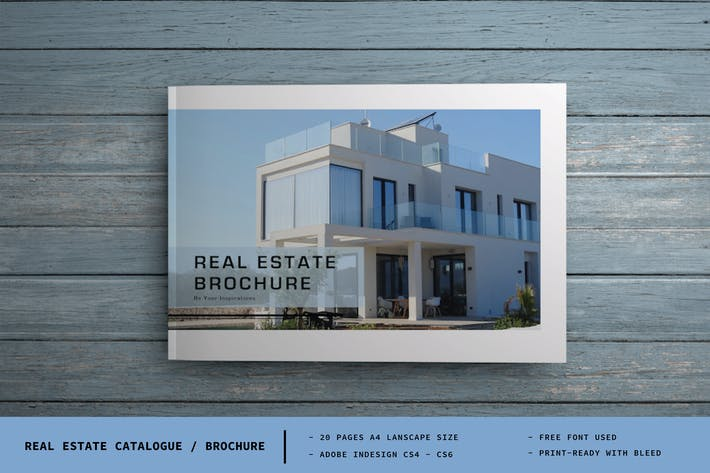 Thumbnail for Real estate Catalogue / Brochure