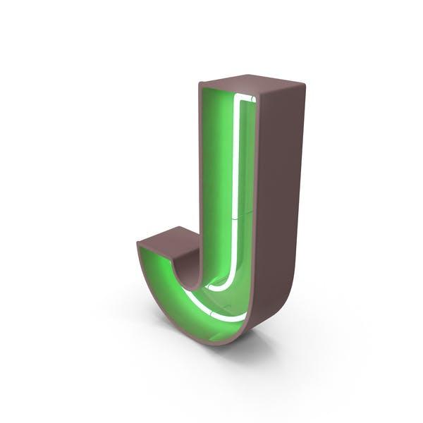 Thumbnail for Neon Letter J