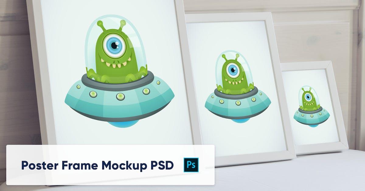Download Poster Frames in luxury interior - Mockup PSD by maroskadlec