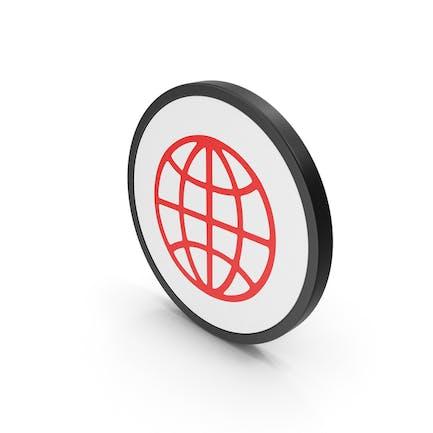 Иконка Красный Web