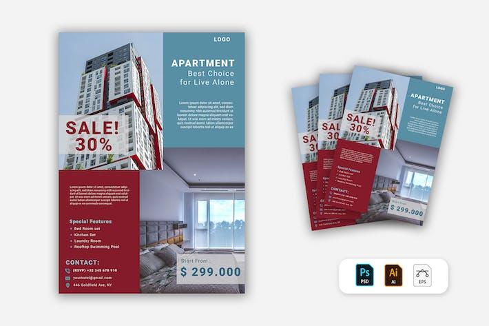 Thumbnail for Appartement dépliant