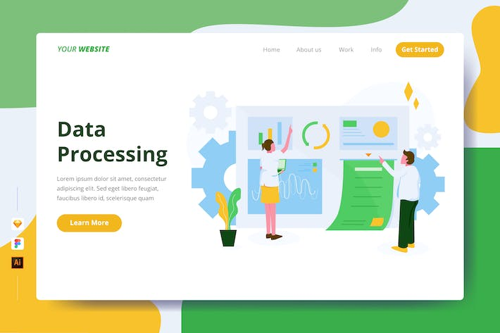 Thumbnail for Data Processing - Landing Page