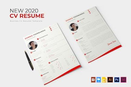 New 2020 Creative   CV & Resume