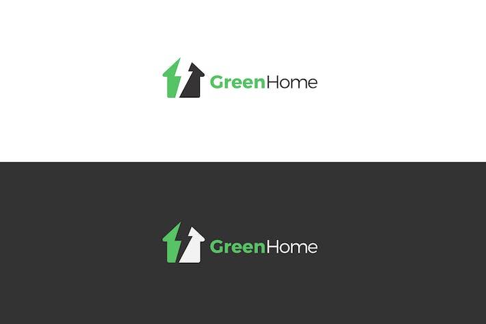 Thumbnail for Green House Logo Design
