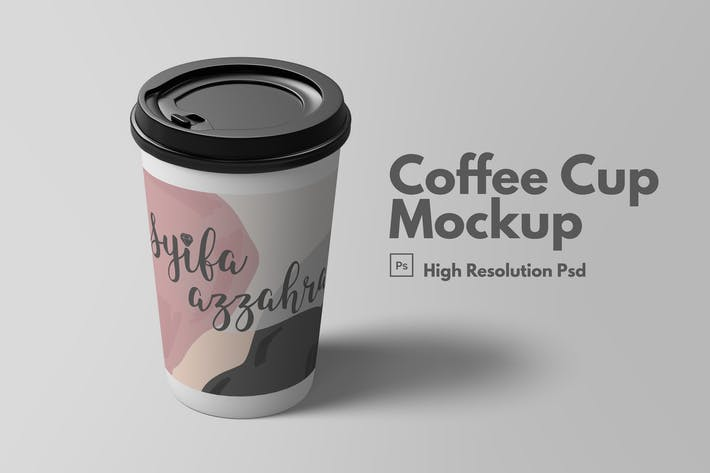 Thumbnail for Coffee Cup Mockup V.1