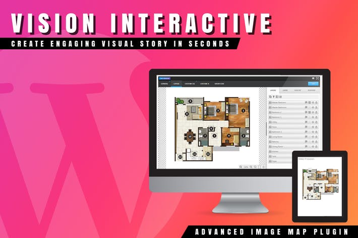 Thumbnail for Vision Interactive - Smart Image Map for WordPress