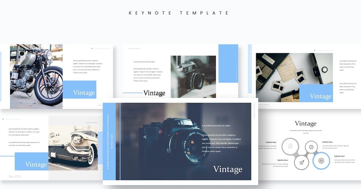 Download Vintage - Keynote Template by aqrstudio