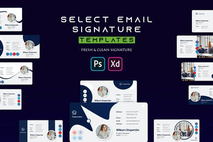 Select | Email Signature Template