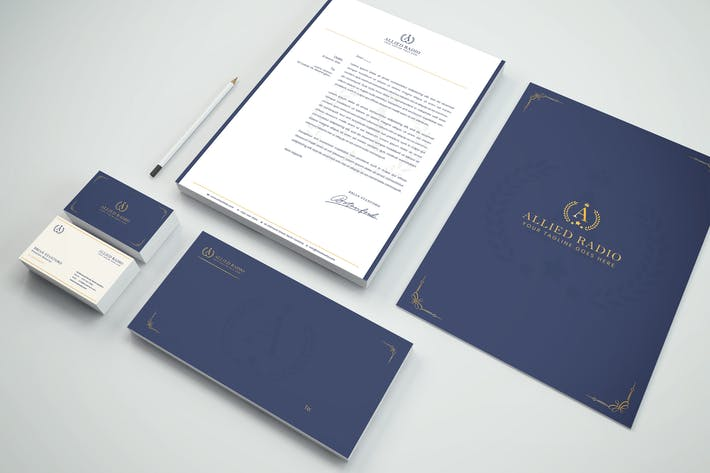 Luxury Branding Identity & Stationery Pack