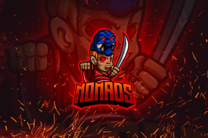 Cover Image For Nomad - Esports & Mascot Logo YR