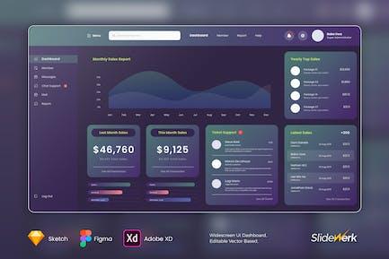 UI Kit Dashboard - 02 - Slidewerk