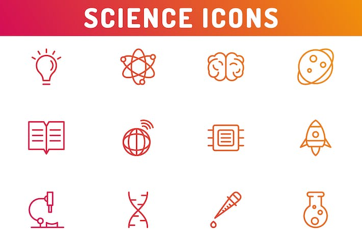 Thumbnail for Science Icons