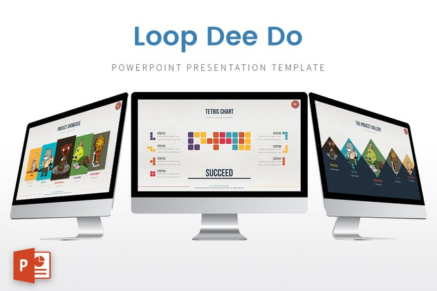 Loop Dee Do - Powerpoint Template