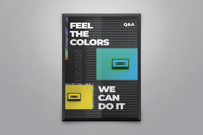 Thumbnail for RetroPoster Template