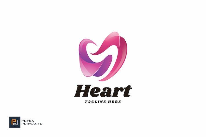 Thumbnail for Heart Love - Logo Template