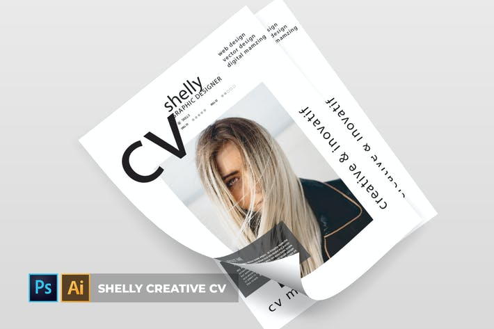Thumbnail for Shelly Creative | CV & Resume