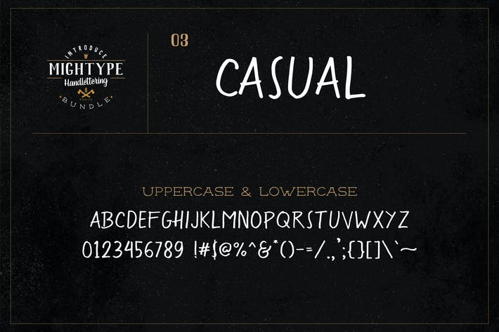 Thumbnail for Mightype 03 - Casual