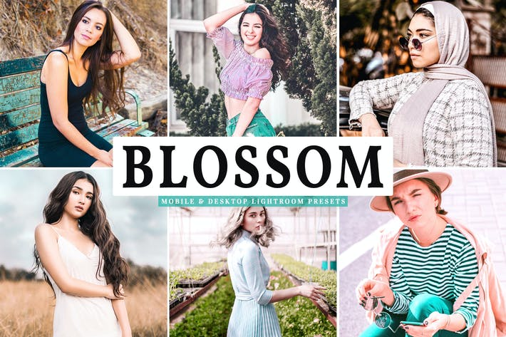 Thumbnail for Blossom Mobile & Desktop Lightroom Presets