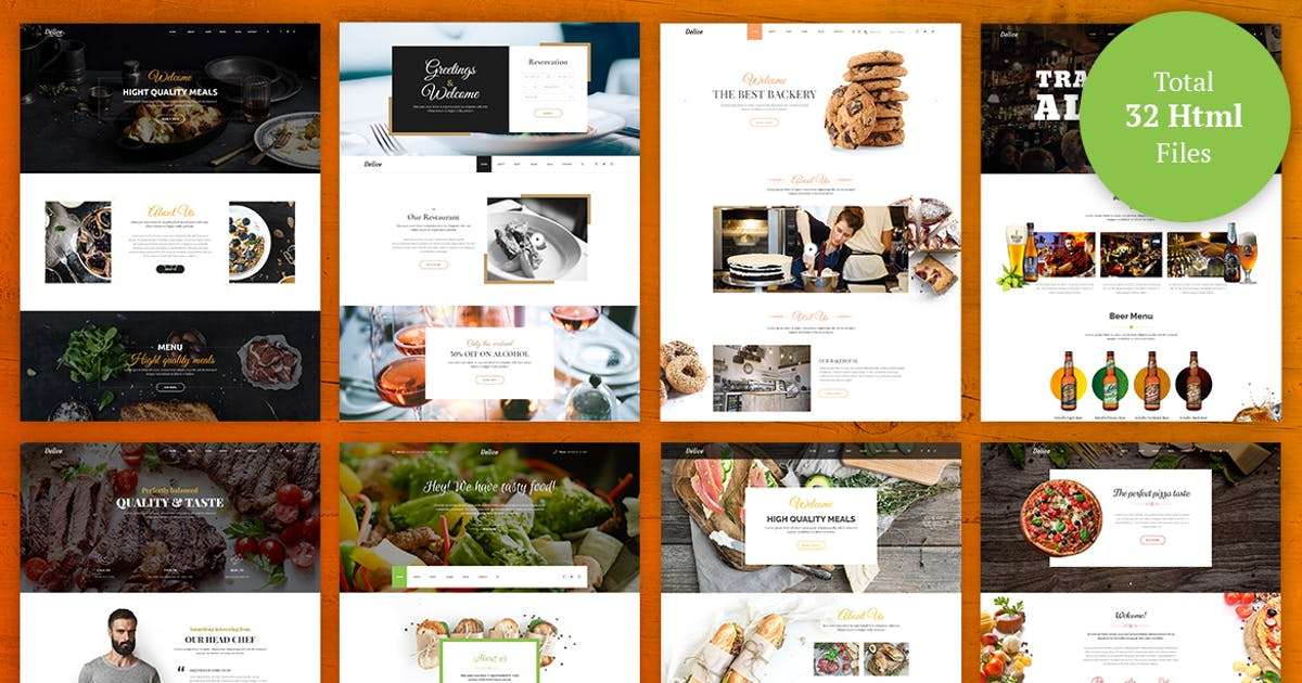 Download Delice - eCommerce Food & Restaurant  Template by UnionAgency