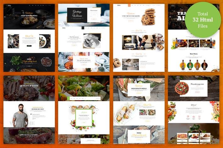 download 17 bakery website templates envato elements