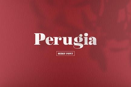 Perugia - Fuente Con serifa