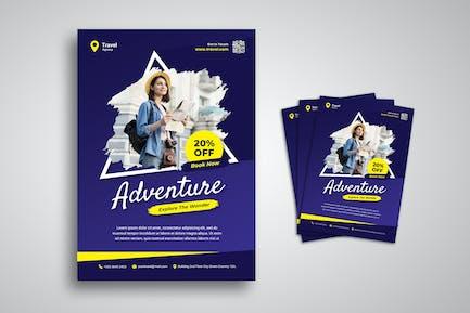 Abenteuer-Flyer