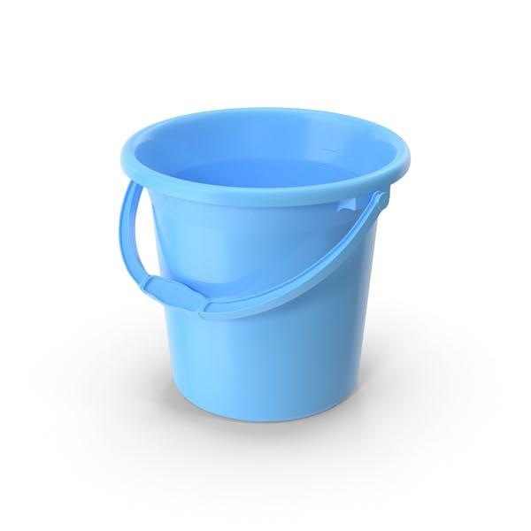 Небьющийся пластиковый ведро для ванной комнаты