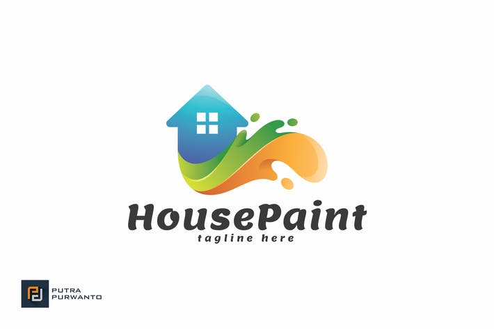House Paint - Logo Template