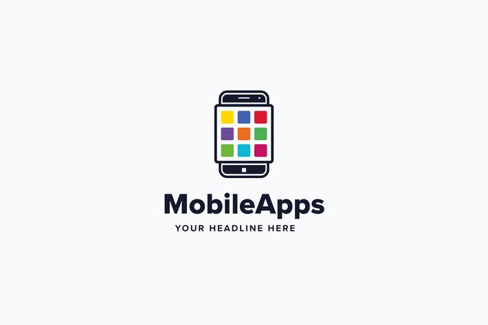 Thumbnail for Mobile Apps Logo Template