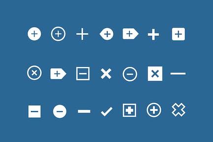 21 Icons hinzufügen und entfernen