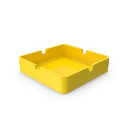 Ashtray Yellow