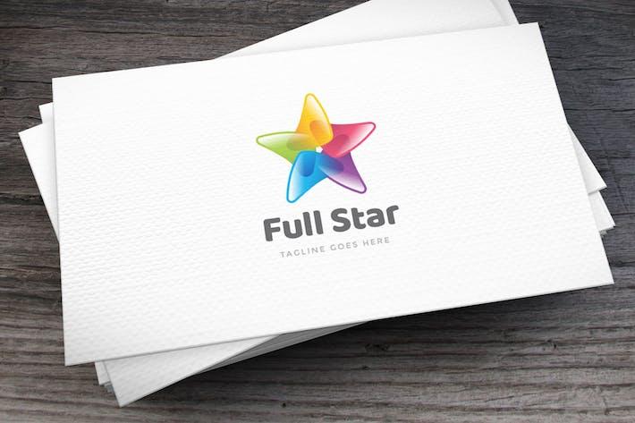 Thumbnail for Full Star Logo Template