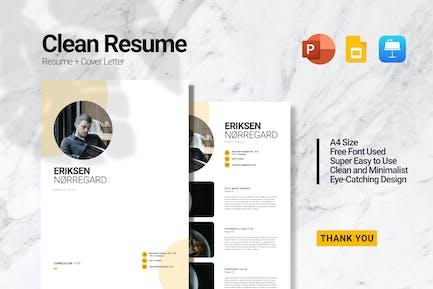 Eriksen  Resume Presentation