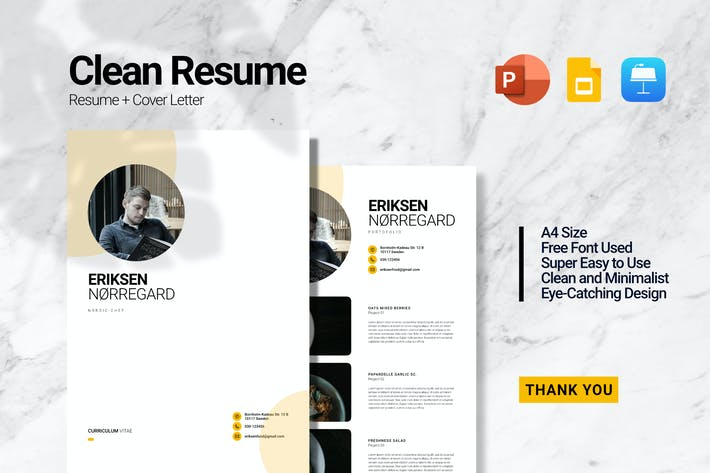 Thumbnail for Eriksen  Resume Presentation
