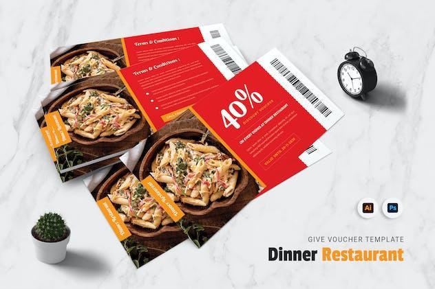 Dinner Restaurant Gift Voucher