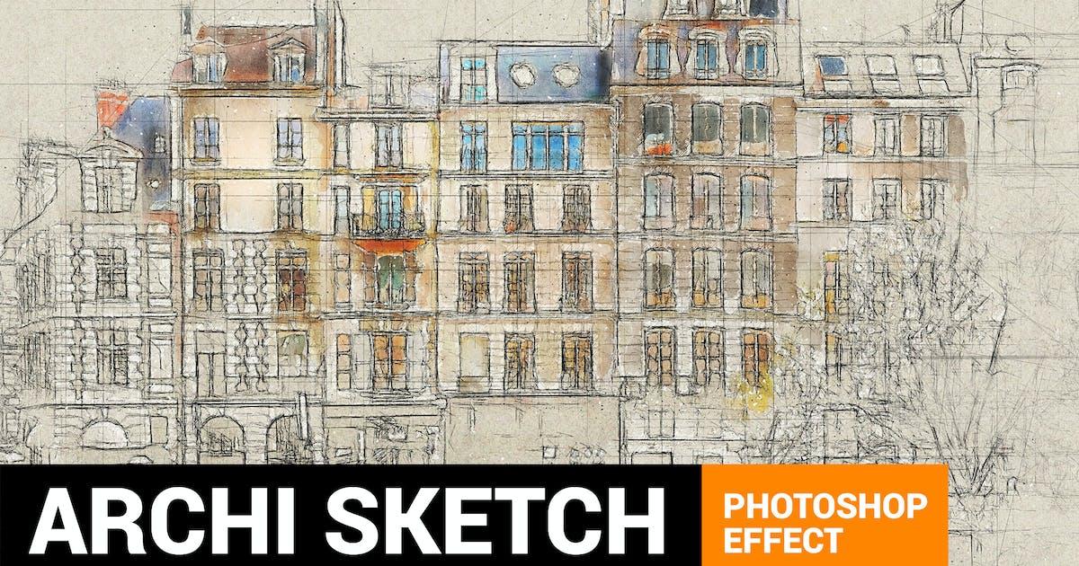 Download Architectum 3 - Archi Sketcher Photoshop Action by profactions