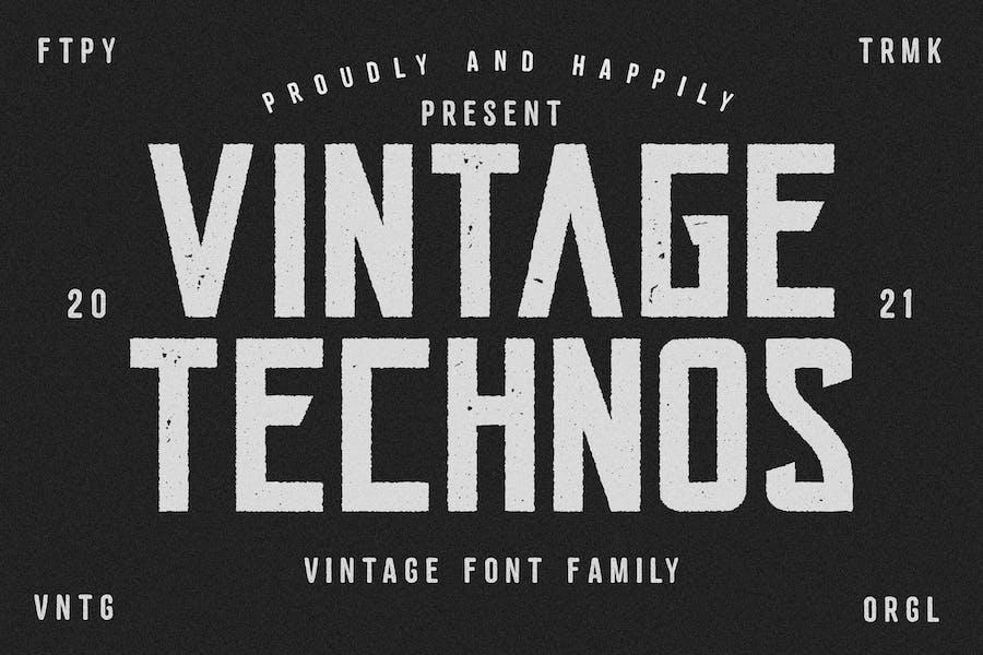 Police Technos Vintage